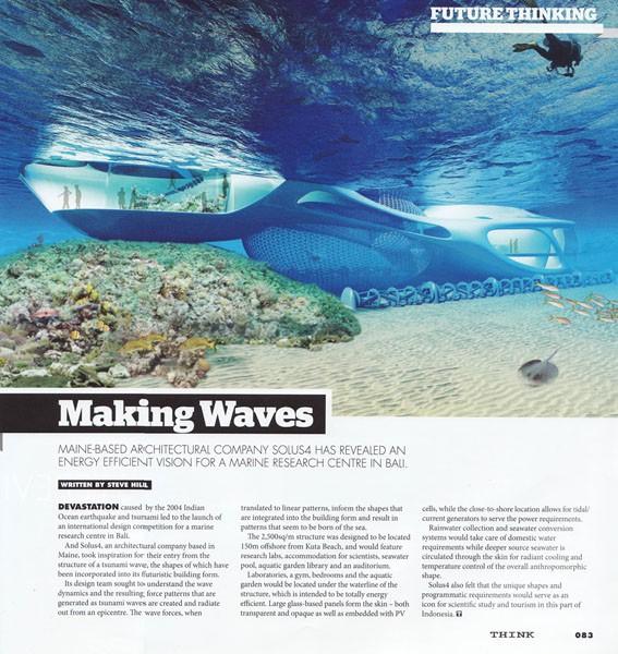 THINK Saudi Spotlights Marine Research Centre In Bali